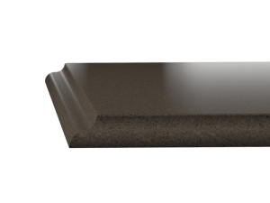 Silestone worktop Ogee edge