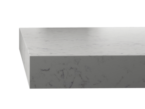 Silestone worktop square edge