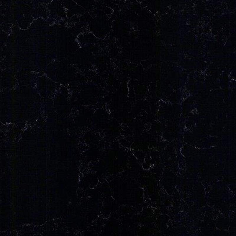 Cloudy Black Quartz Worktop