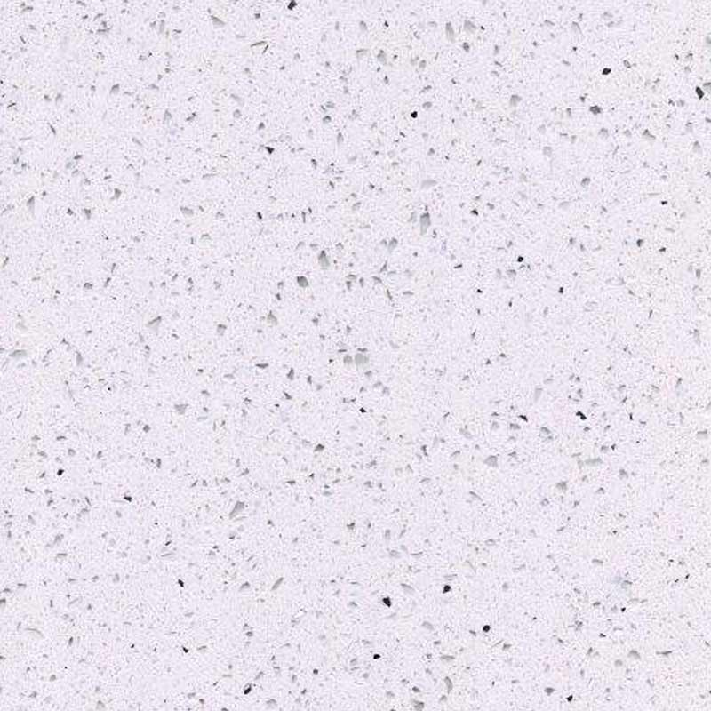 White Sparkle Quartz Worktop